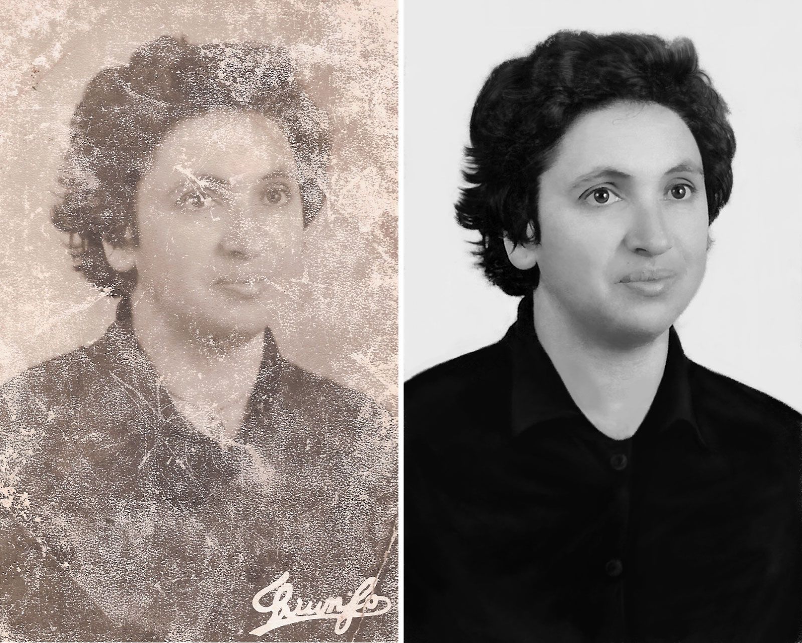 Photo Restoration and enhancement service